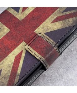 HTC U Play Printing Wallet Case, UK Flag.