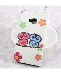 HTC U Play Printing Wallet Case, Owl 2.