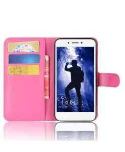 Huawei Honor 6A Wallet Leather Case, Rose.