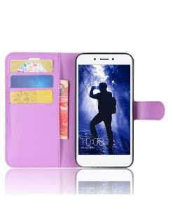 Huawei Honor 6A Wallet Leather Case, Lila.