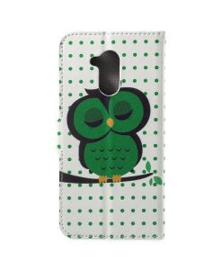 Huawei Honor 6A Printing Wallet Case, Owl 1.