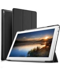 Lenovo Tab4 10 Plus Tri-fold Case, Ruskea.