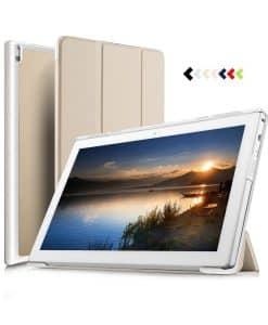 Lenovo Tab4 10 Plus Tri-fold Case, Gold.