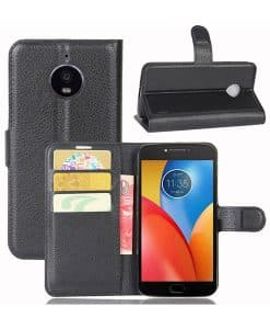 Lenovo Moto E4 Plus Wallet Leather Case
