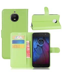 Lenovo Moto G5S Plus Wallet Leather Case