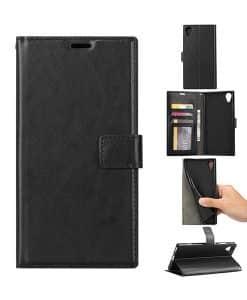 Sony Xperia XA1 Plus Crazy Horse Suojakotelo