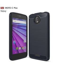 Lenovo Moto C Plus Carbon Fiber Case