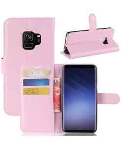 Samsung Galaxy S9 Wallet Leather Case