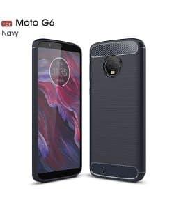 Lenovo Moto G6 Carbon Fiber Case