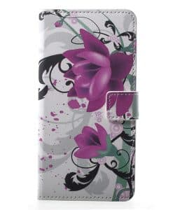 Sony Xperia XZ2 Pattern Leather Case