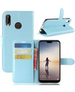 Huawei P20 Lite Wallet Leather Case