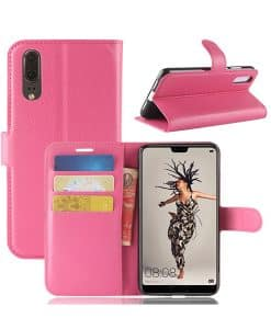 Huawei P20 Wallet Leather Case