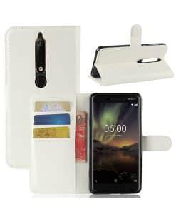 Nokia 6 (2018) Wallet Case Suojakotelo