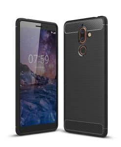 Nokia 7 Plus Carbon Fiber Case
