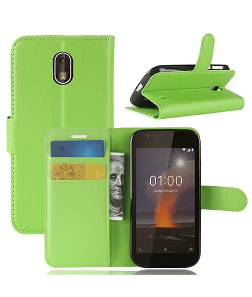 Nokia 1 Wallet Leather Case