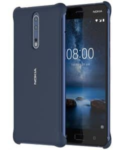 CC-801 NOKIA 8 SOFT TOUCH CASE BLUE