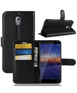 Nokia 3.1 (2018) Wallet Leather Case