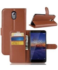 Nokia 3.1 (2018) Wallet Leather Case