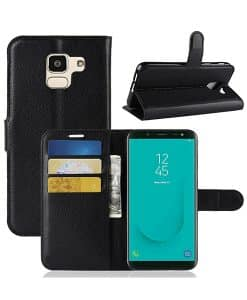Samsung Galaxy J6 2018 Wallet Leather Case
