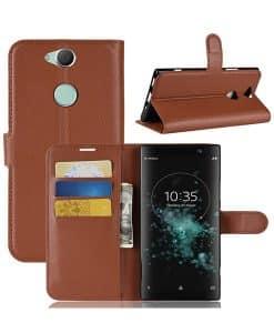 Sony Xperia XA2 Plus Wallet Leather Case