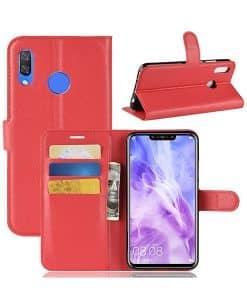 Huawei P Smart+ Wallet Leather Case