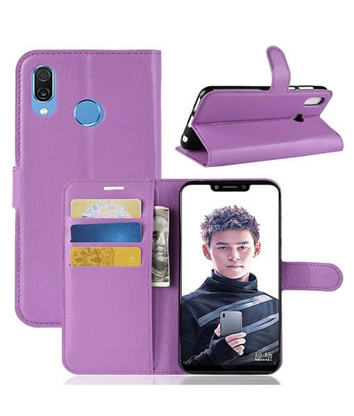 Honor Play Wallet Leather Case