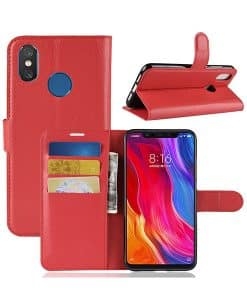 Xiaomi Mi 8 Wallet Leather Case