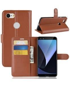 Google Pixel 3 Wallet Leather Case