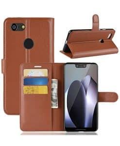 Google Pixel 3 XL Wallet Leather Case