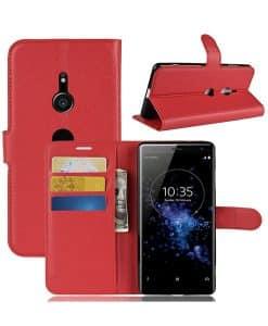 Sony Xperia XZ3 Wallet Leather Case