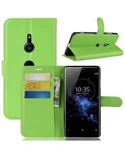 Sony Xperia XZ3 Wallet Leather Case