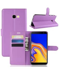 Samsung Galaxy J4 Plus Wallet Leather Case