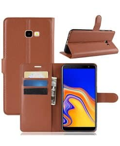 Samsung Galaxy J4 Plus Wallet Leather Case