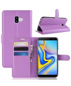 Samsung Galaxy J6 Plus Wallet Leather Case