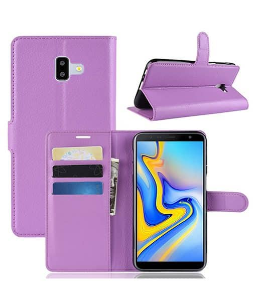 Samsung Galaxy J6 Plus Wallet Leather Case