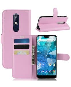 Nokia 7.1 Wallet Leather Case