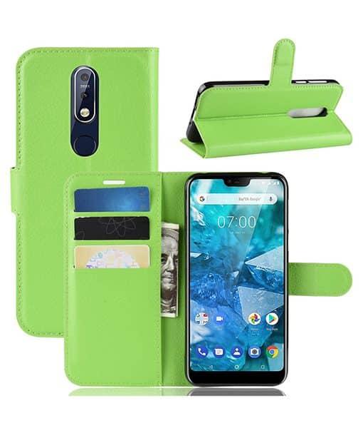 Nokia 7.1 Wallet Leather Case
