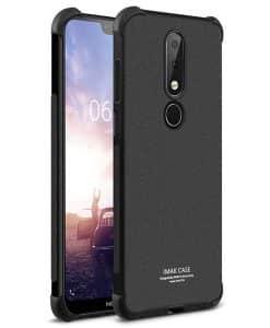 Nokia 7.1 IMAK Silikoni Suojakuori