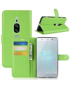 Sony Xperia XZ2 Premium Wallet Leather Case
