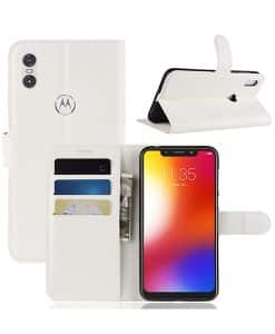 Motorola One Wallet Leather Case