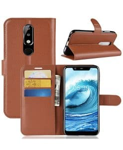 Nokia 5.1 Plus Wallet Leather Case