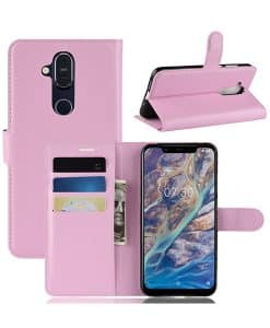 Nokia 8.1 Wallet Leather Case