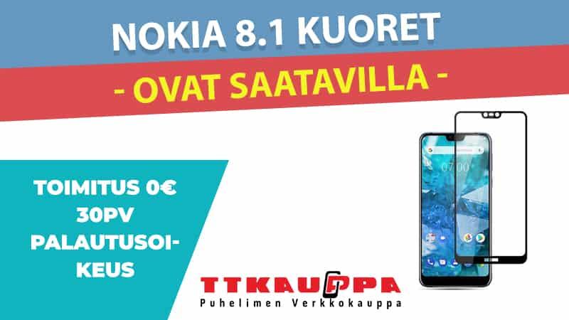 Nokia 8.1 Kuoret ja Kotelot