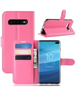 Samsung Galaxy S10 Plus Wallet Leather Case