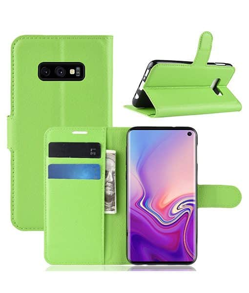 Samsung Galaxy S10e Wallet Leather Case