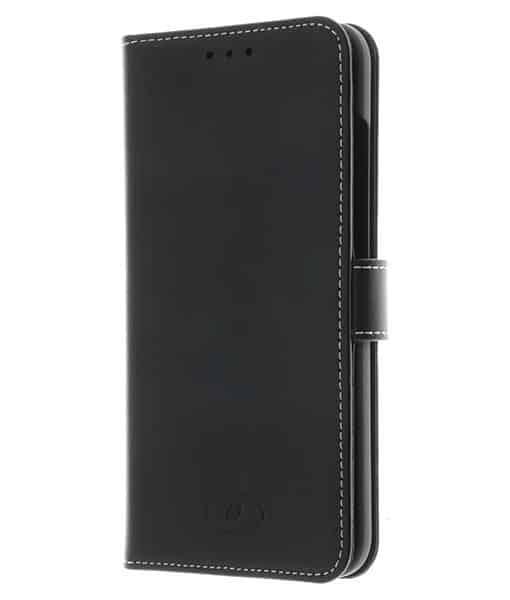 INSMAT Flip Case Nokia 8.1, Musta.