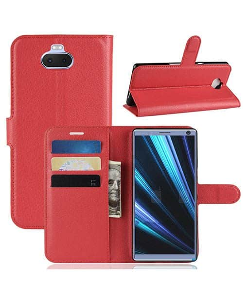 Sony Xperia 10 Wallet Leather Case