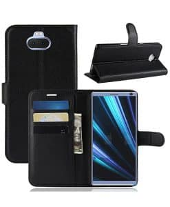 Sony Xperia 10 Plus Wallet Leather Case