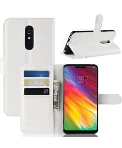 LG G7 Fit Wallet Leather Case