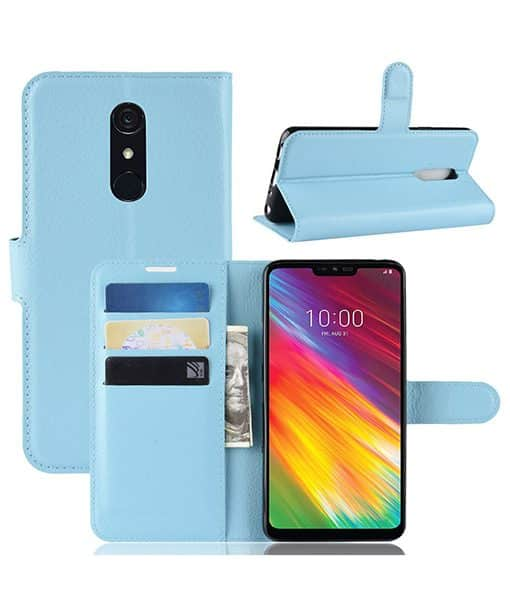 LG G7 Fit Wallet Leather Case